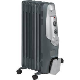 Olejový radiátor AEG RA 5520 šedý (poškozený obal 3000012989)