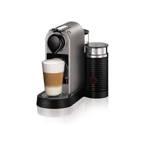Krups Nespresso Citiz XN760B10 titanium + K nákupu poukaz v hodnotě 1 000 Kč na další nákup + Doprava zdarma