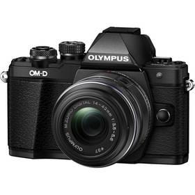 Olympus E-M10 Mark III, černá/černá + 14-42mm