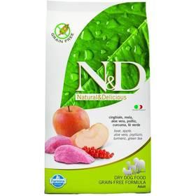 N&D Grain Free DOG Adult Boar & Apple 12 kg Plastový kontejner na granule N&D Farmina + Doprava zdarma