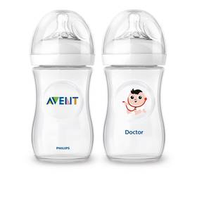 Philips AVENT 260 ml Natural PP + láhev profese DOKTOR