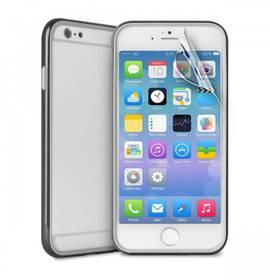 Puro pro iPhone 6 Plus + ochranná folie (IPC655BUMPERBLK) čierny