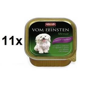 Animonda Vom Feinsten Menue jehněčí + obiloviny 11 x 150g