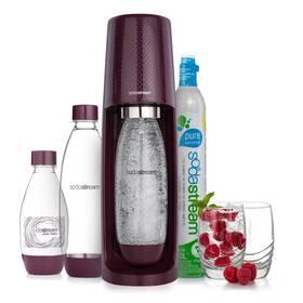 Výrobník sodové vody SodaStream Spirit PLUM