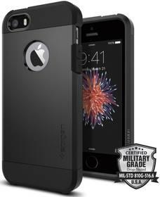 Kryt na mobil Spigen Tough Armor pro Apple iPhone 5/5s/SE (041CS20189) čierny