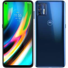 Motorola Moto G9 Plus (PAKM0003PL) modrý