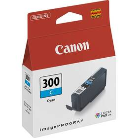 Canon PFI-300, 14,4 ml (4194C001) modrá