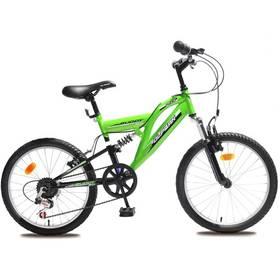 Detský bicykel Olpran Buddy 20' zelené