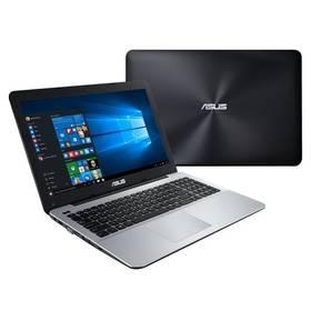 """Asus F555LF-DM417T (F555LF-DM417T) hnědý Brašna na notebook ATTACK IQ Cord 15.6"""" - černá (zdarma) + Software za zvýhodněnou cenu + Doprava zdarma"""