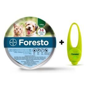 Bayer Foresto 38 cm pro kočky a malé psy Světýlko Bayer Foresto kost zelené (zdarma)