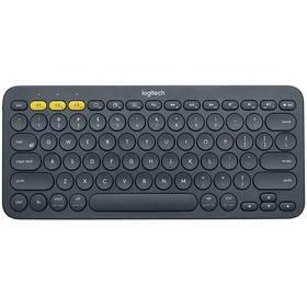 Logitech Bluetooth Keyboard K380, US (920-007582) sivá