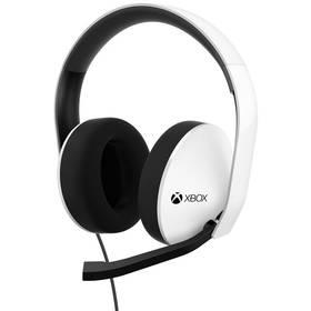 Microsoft XBOX ONE Stereo sluchátka - bílá (5F4-00011)