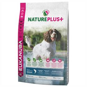 Eukanuba Nature Plus+ Adult Medium frozen Salmon 10 kg