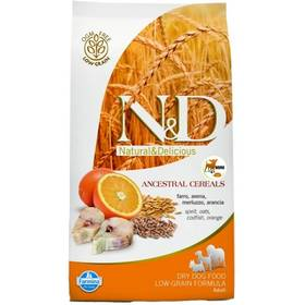N&D Low Grain DOG Adult Mini Codfish & Orange 7 kg + Doprava zdarma