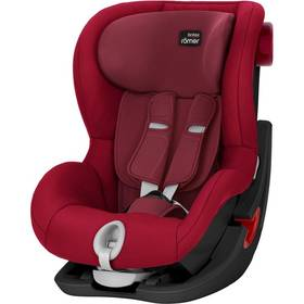Britax/Römer King II Black 2017, 9-18kg, Flame Red červená