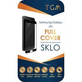 Ochranné sklo TGM Full Cover pro Samsung Galaxy J4+ (TGMSMJ4PBK) černé