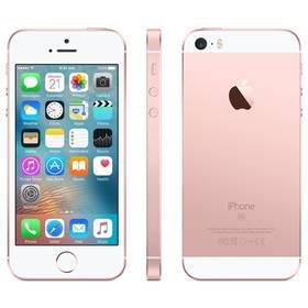 Apple iPhone SE 16 GB - Rose Gold (MLXN2CS/A) Voucher na skin Skinzone pro Mobil CZSoftware F-Secure SAFE 6 měsíců pro 3 zařízení (zdarma) + Doprava zdarma