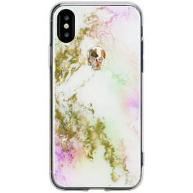 Bling My Thing Tresaure Unicorn Gold Skull pro Apple iPhone X c431d27affd