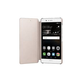 Huawei P9 Lite Flip Cover (51991528) zlaté + Doprava zdarma