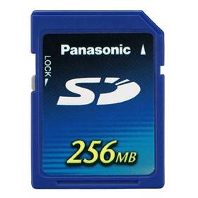 Paměťová karta SD Panasonic RP-SDH256E1A, 256MB