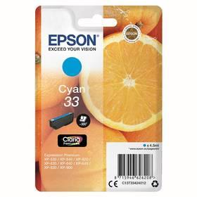 Epson Claria Premium T33 (C13T33424012) modrý