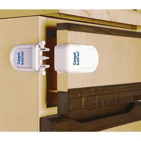 Zámok bezpečnostný Canpol babies na zásuvky biely
