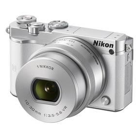 Nikon 1 J5 + 10-30mm bílý + Doprava zdarma