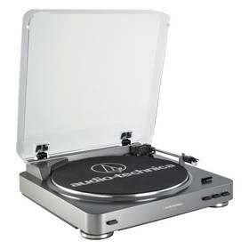 Audio-technica AT-LP60-USB stříbrný + Doprava zdarma