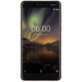 Nokia 6.1 Dual Sim (11PL2B01A10) černý + Doprava zdarma