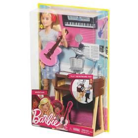 Mattel muzikantka blondýnka + Doprava zdarma