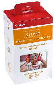 Canon RP-108,10x15 cm, 108 listů pro Selphy (8568B001AA)