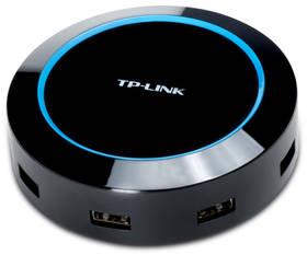 USB Hub TP-Link UP540, 5 port, nabíjení (40W) (UP540) čierny