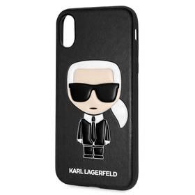Karl Lagerfeld Ikonik Case pro Apple iPhone X Xs (KLHCPXIKPUBK) černý 407f2c52df3