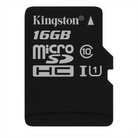 Kingston MicroSDHC 16GB UHS-I U1 (45R/10W) (SDC10G2/16GBSP)