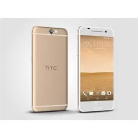 HTC One A9 zlatý + Voucher na skin Skinzone pro Mobil CZ v hodnotě 399 Kč jako dárek+ Software F-Secure SAFE 6 měsíců pro 3 zařízení v hodnotě 999 Kč jako dárekPaměťová karta Samsung Micro SDHC 16GB Class 10 - bez adaptéru (zdarma) + Doprava zdarma