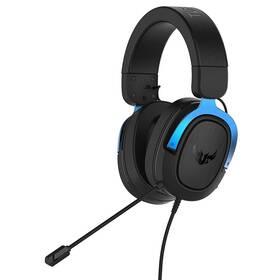 Headset Asus TUF Gaming H3 (90YH029B-B1UA00) černý/modrý