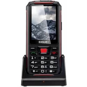 Evolveo StrongPhone Z4 (SGP-Z4-B) černý/červený