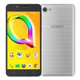 ALCATEL A5 LED 5085D (5085D-2AALE11) stříbrný SIM s kreditem T-Mobile 200Kč Twist Online Internet (zdarma) + Doprava zdarma