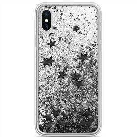 Kryt na mobil White Diamonds Sparkle na Apple iPhone X/Xs (WD1370SPK15) čierny