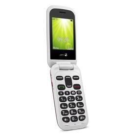 Doro 2404 Dual SIM (7367) bílý/červený