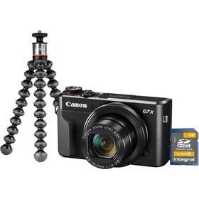 Canon PowerShot G7X Mark II Vlogger Kit (1066C037) černý + Doprava zdarma