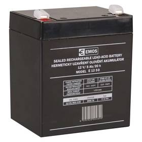 EMOS bezúdržbový 12 V/5Ah, faston 6,3 mm (B9679)