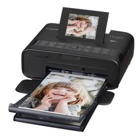 Fototlačiareň Canon CP-1200 Selphy + sada 54 papírů a folií (0599C013) čierna