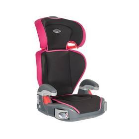 GRACO JUNIOR MAXI 2016, 15-36 kg Sport Pink černá barva/růžová barva