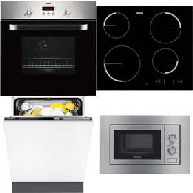 Zanussi ZOB442X + ZEV6340FBA + ZDT26001FA + ZSM17100XA + Doprava zdarma