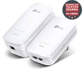 TP-Link TL-WPA9610KIT + IP TV na 1 měsíc ZDARMA (TL-WPA9610KIT) bílý + Doprava zdarma