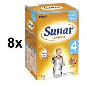 Sunar Complex 4 jahoda, 600g x 8ks + Doprava zdarma
