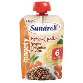 Sunárek Do ručičky Meal Pouch - Špagety s boloňskou omáčkou 120g x 12ks