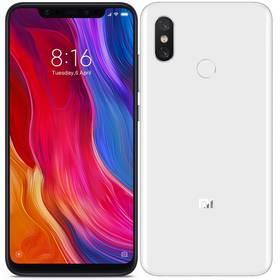 Xiaomi Mi 8 Dual SIM 128 GB (20653) bílý + Doprava zdarma