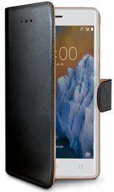 Celly Wally pro Nokia 3 (WALLY660) černé